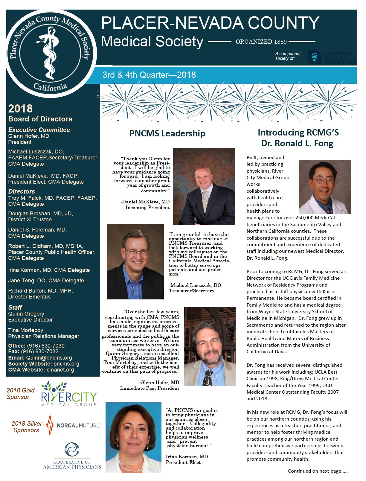 PNCMS Newsletter